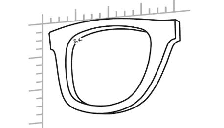 Frame and Lens Shaped Together